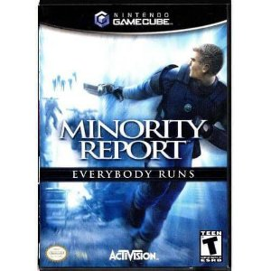 Minority Report Seminovo – Nintendo GameCube