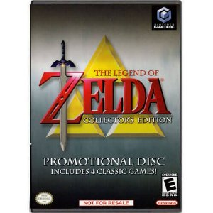 The Legend Of Zelda Collector's Edition Seminovo – Nintendo GameCube