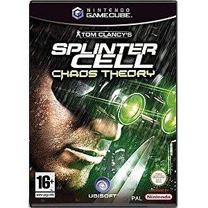 Tom Clancy's Splinter Cell Chaos Theory Seminovo – Nintendo GameCube