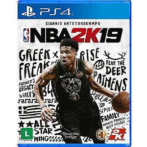 NBA 2K19 Seminovo - PS4