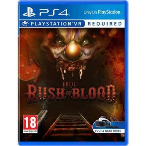 Until Dawn Rush Of Blood PS VR - PS4