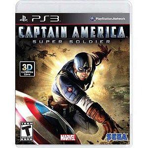 Captain America Super Soldier Seminovo - PS3