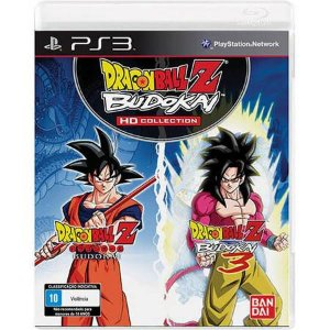 Dragon Ball Z Budokai HD Collection Seminovo - PS3
