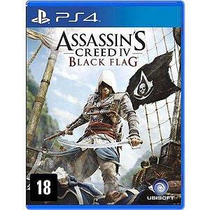 Assassin's Creed IV Black Flag Seminovo - PS4