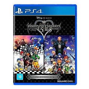 Kingdom Hearts Hd 1.5 + 2.5 Remix Seminovo - PS4