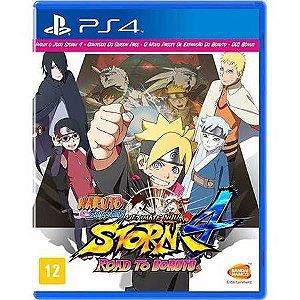 Naruto Shippuden Ultimate Ninja Storm 4 Road To Boruto Seminovo - PS4