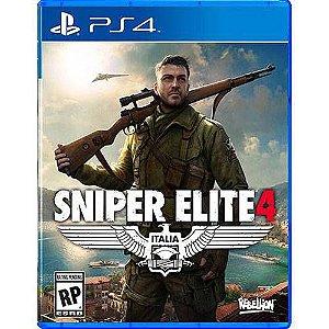 Sniper Elite 4 Seminovo - PS4