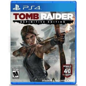 Tomb Raider: Definitive Edition Seminovo - PS4