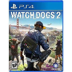 Watch Dogs 2 Seminovo - PS4