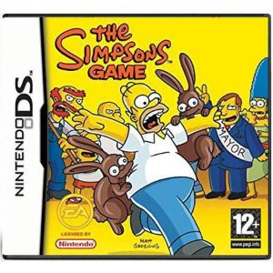 The Simpsons Game Seminovo - DS