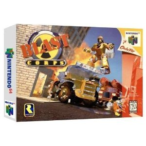 Blast Corps Seminovo - Nintendo 64 - N64