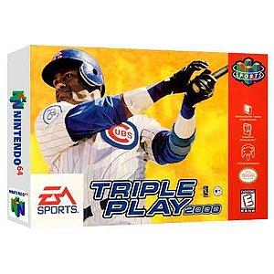 Triple Play 2000 Seminovo - Nintendo 64 - N64