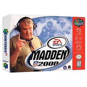 Madden Nfl 2000 Seminovo - Nintendo 64 - N64