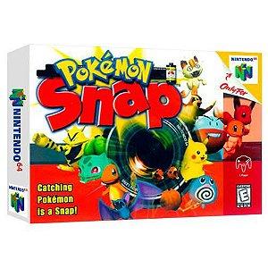 Pokémon Snap Seminovo - Nintendo 64 - N64