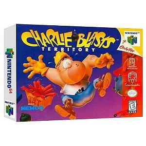 Charlie Blasts Territory Seminovo - Nintendo 64 - N64