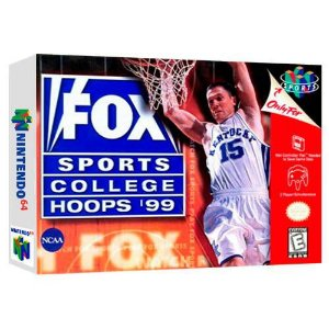 Fox Sports College Hoops 99 Semi-Novo - Nintendo 64 - N64