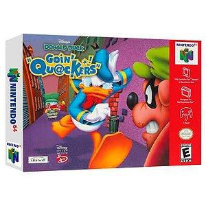 Donald Duck Goin Quackers Seminovo - Nintendo 64 - N64