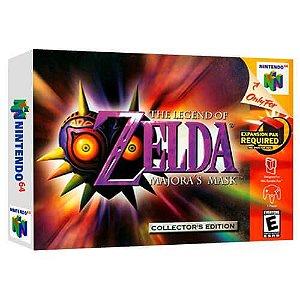 The Legend Of Zelda Majora's Mask Seminovo - Nintendo 64 - N64
