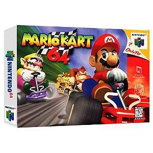 Mario Kart 64 Seminovo - Nintendo 64 - N64