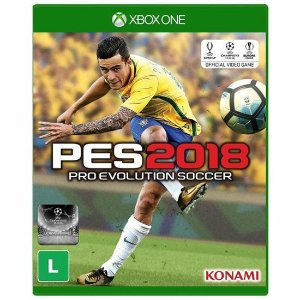 PES Pro Evolution Soccer 2018 Seminovo – Xbox One
