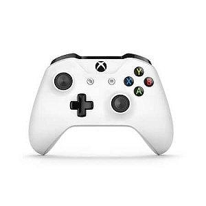 Controle Xbox One S Branco Seminovo - Xbox One