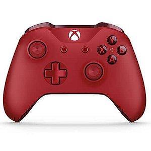 Controle Xbox One S Vermelho - Xbox One
