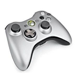 Controle Sem Fio Original Microsoft D-Pad Seminovo - Xbox 360