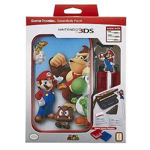 Case Traveler Essentials Pack Super Mario - Nintendo 3DS