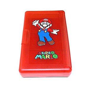 Estojo de Armazenamento de Jogos Mario - Nintendo DS