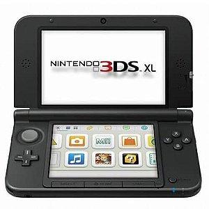 Console Nintendo 3DS XL Seminovo – Preto