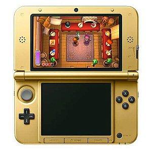 Console Nintendo 3DS XL Edição Limitada (The Legend of Zelda) Seminovo – Dourado