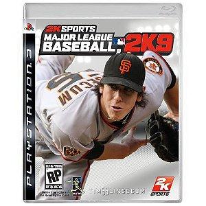 Major League Baseball 2K9 Seminovo - PS3
