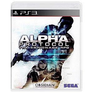 Alpha Protocol Seminovo - PS3