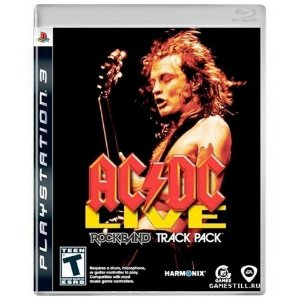 AC/DC Live Rock Band Track Pack Seminovo - PS3
