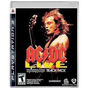 AC/DC Live Rock Band Track Pack Seminovo - PS3