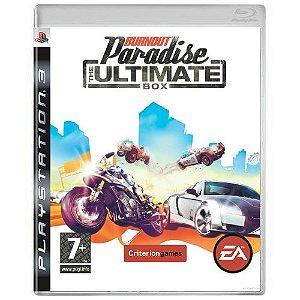 Burnout Paradise (The Ultimate Box) Seminovo - PS3