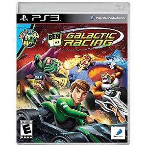 Ben 10 Galactic Racing Seminovo - PS3