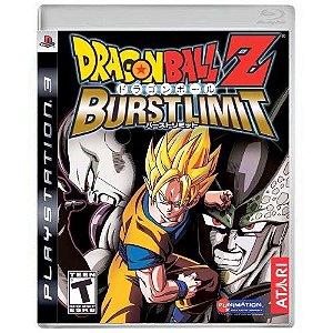 Dragon Ball Z Burst Limit Seminovo - PS3