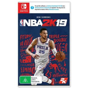 NBA 2K19 Seminovo - Nintendo Switch