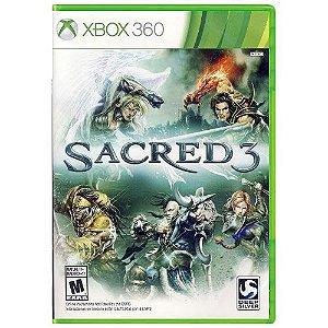 Sacred 3 Seminovo - Xbox 360