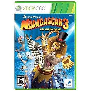 Madagascar 3 Seminovo - Xbox 360