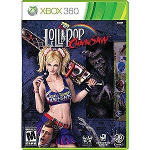 Lollipop Chainsaw Seminovo - Xbox 360