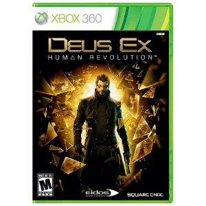 Deus Ex Human Revolution Seminovo - Xbox 360