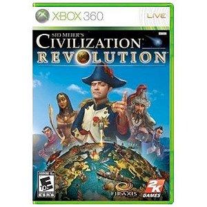 Sid Meiers Civilization Revolution Seminovo - Xbox 360