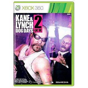Kane & Lynch 2 – Dog Days Seminovo – Xbox 360