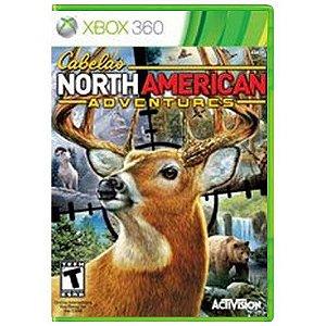 Cabelas North American Adventures Seminovo - Xbox 360