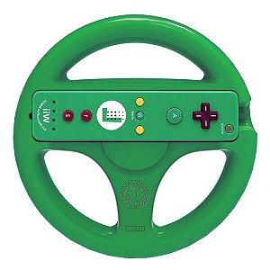 Volante Mario Kart 8 Luigi Seminovo - Wii U ( Remote não Incluido )