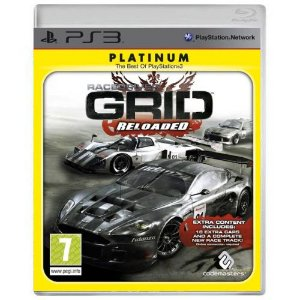 RaceDriver Grid Reloaded Seminovo - PS3