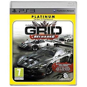 RaceDriver Grid Reloaded Seminovo - PS3