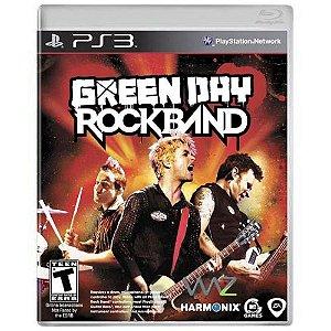 Green Day Rock Band Seminovo - PS3